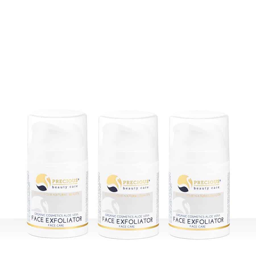 3 flesjes Face Exfoliator Scrub / Mask